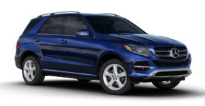 2017 Mercedes-Benz GLE Brilliant Blue Metallic