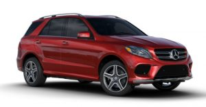 2017 Mercedes-Benz GLE Cardinal Red Metallic