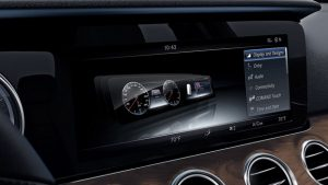 2018 E-Class panoramic screen_o