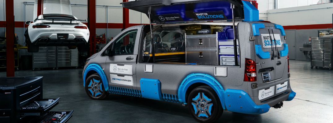 What is payload capacity of mercedes benz metris toolbox van for Mercedes benz metris towing capacity