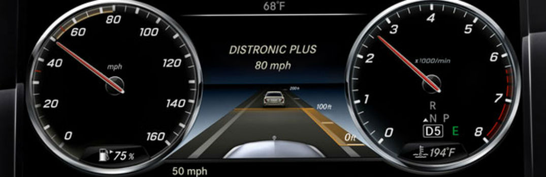 What is the Mercedes-Benz DISTRONIC PLUS Feature?