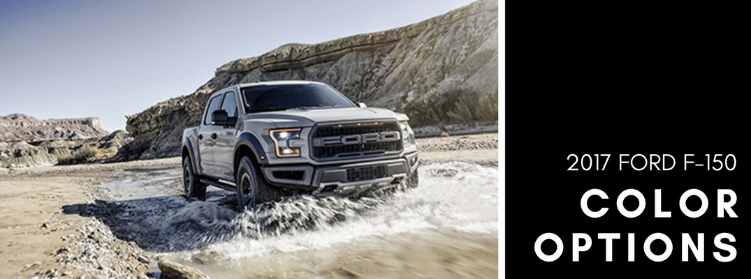 2017 Ford F-150 color options