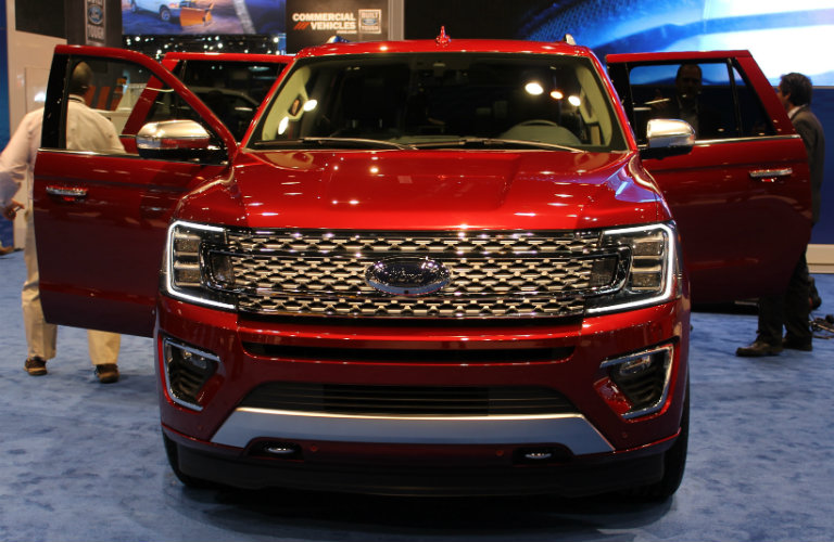 2018 Ford Expedition Chicago Auto Show Front End Design