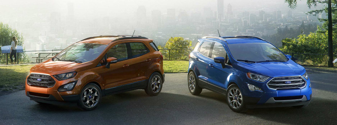 new technology features in 2018 Ford EcoSport
