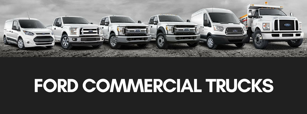 what are the types of Ford commercial trucks