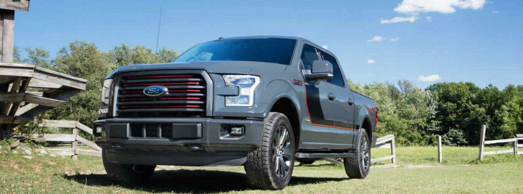 What colors does the 2017 Ford F-150 come in?