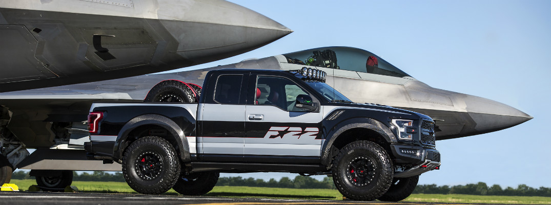 See The Special Edition Ford F 22 F 150 Raptor From Eaa 2017