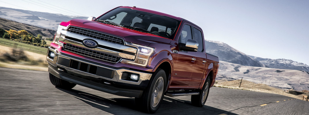 What is the MPG Rating for the 2018 Ford F-150?