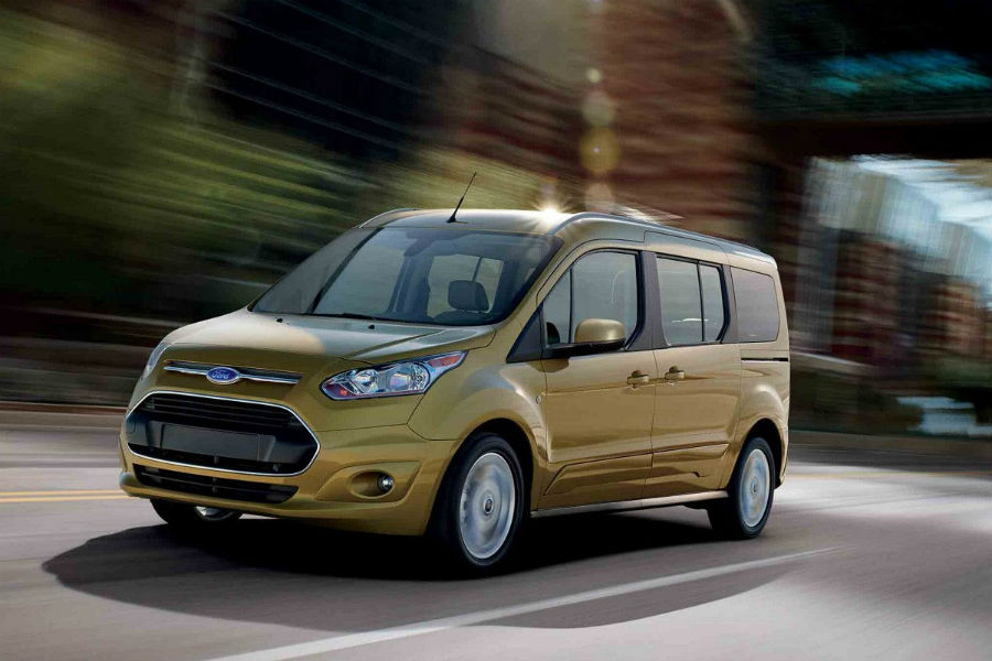 ford transit connect passenger van in solar color_o