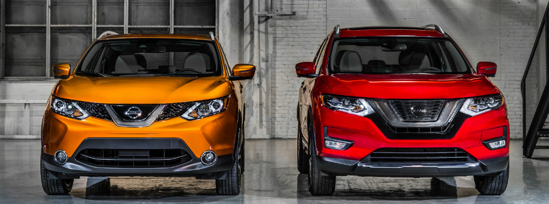 how are the 2017 nissan rogue and rogue sport different. Black Bedroom Furniture Sets. Home Design Ideas