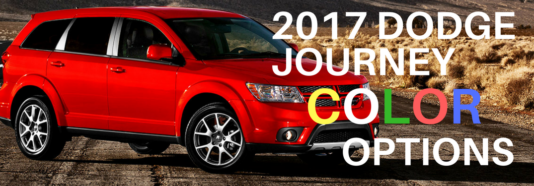 2017 Dodge Journey in red