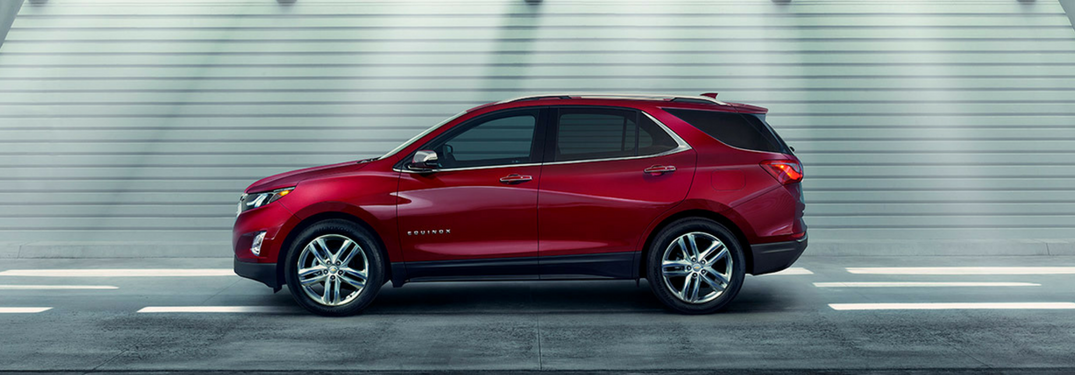 2018 Chevy Equinox in red