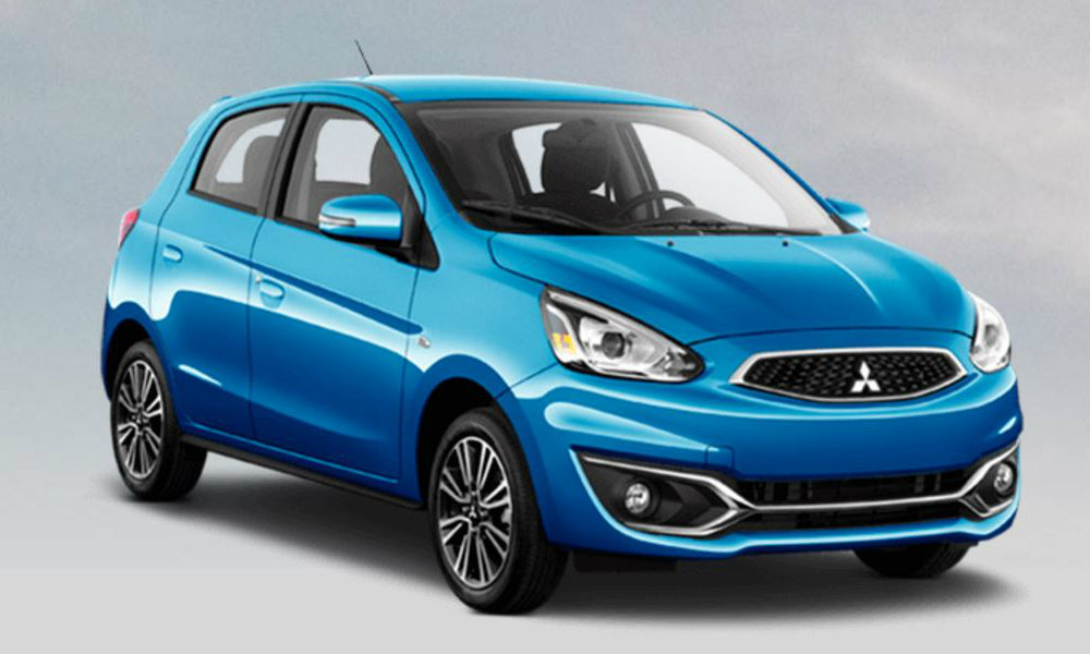 2017 Mitsubishi Mirage Color Options