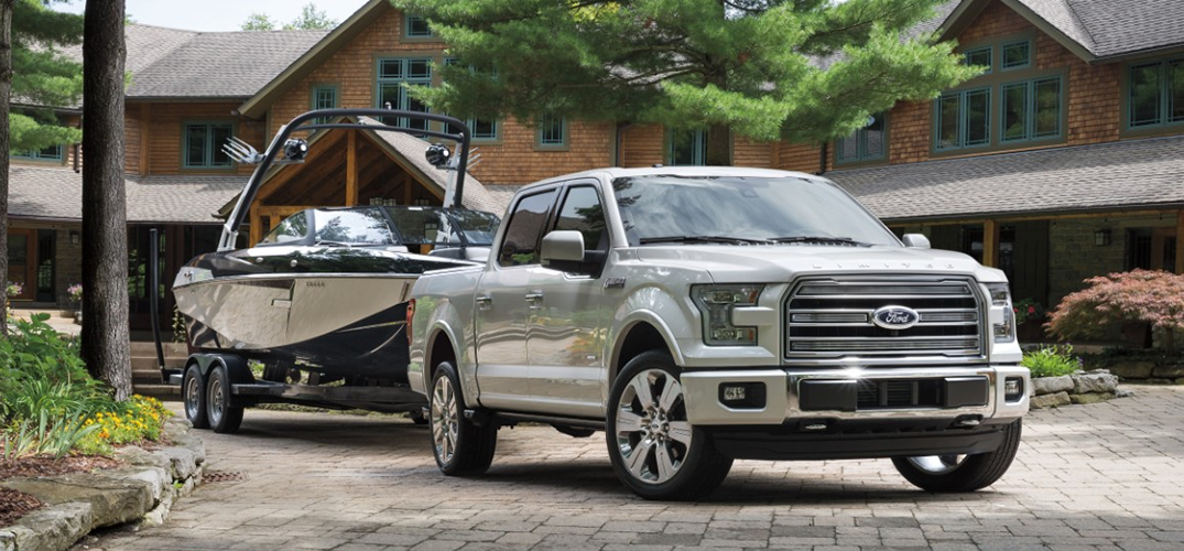 2016 Ford F-150 Limited Luxury Pickup Towing Capacity