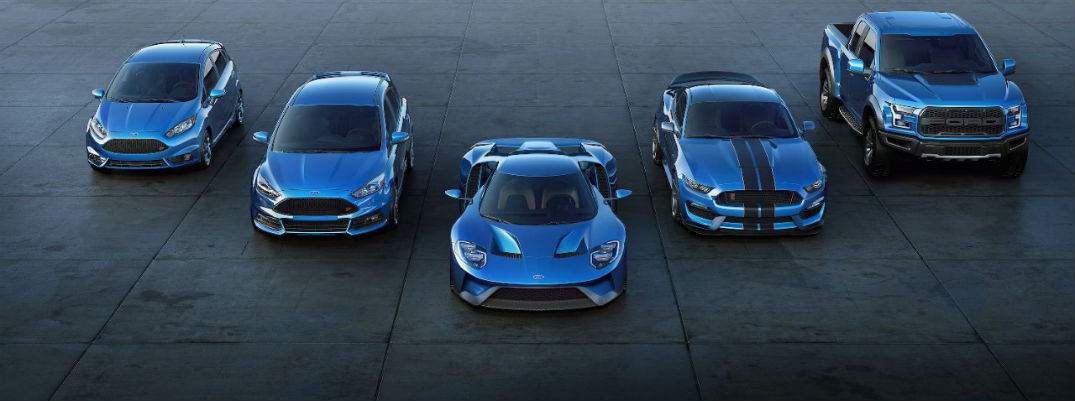 What Are The Twelve Performance Vehicles Ford Will Release