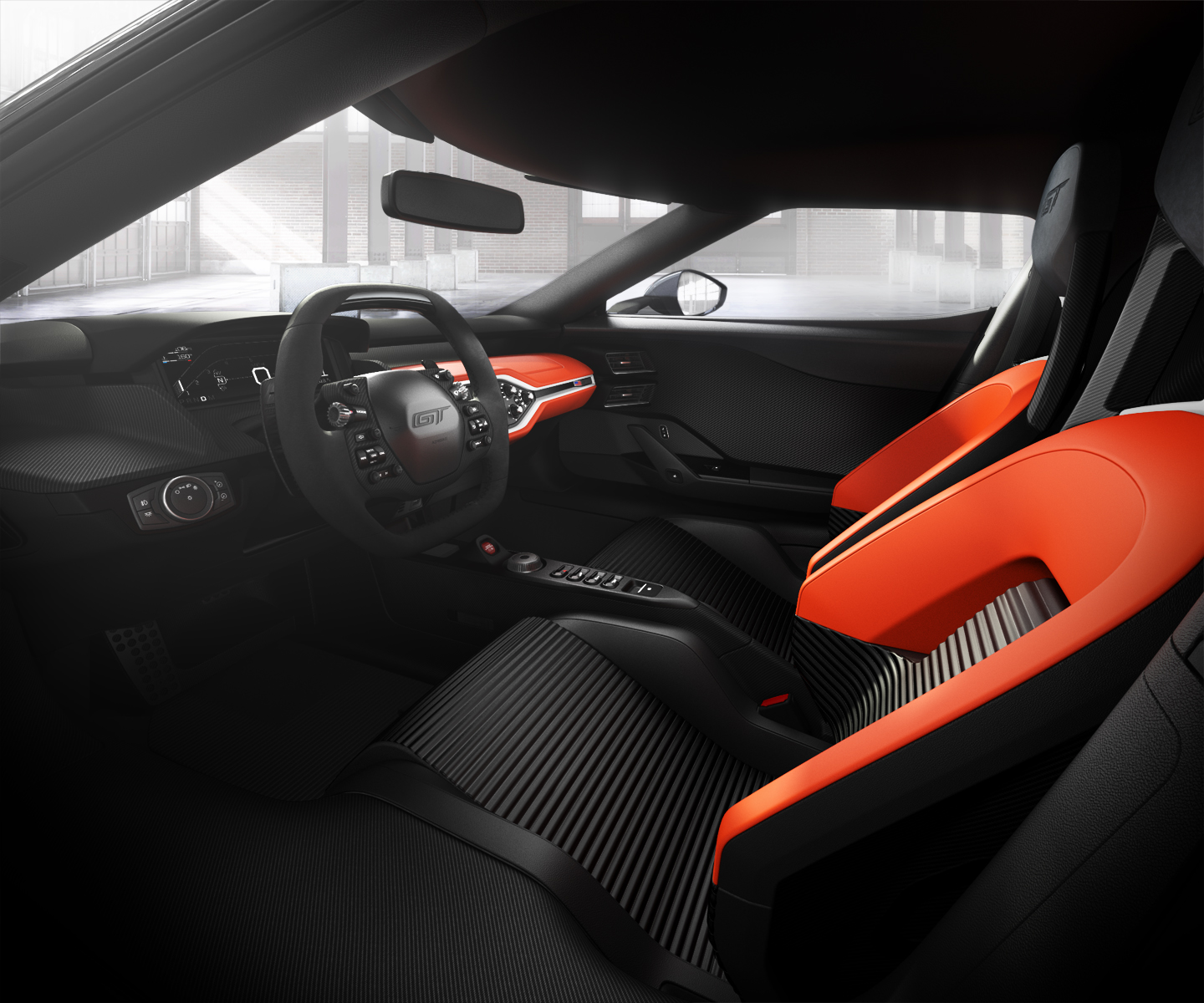 Ford Gt Launch Control Interior Package