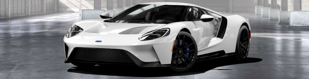 Ford Gt With Matte Black Side Skirts