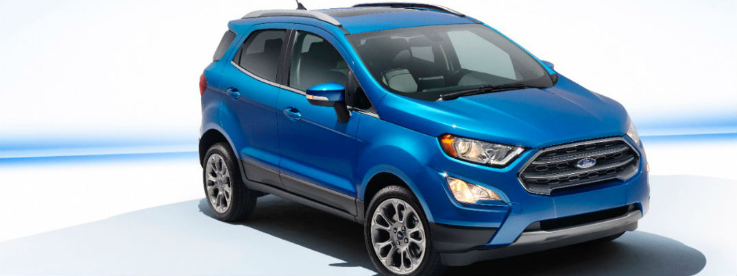 Ford Ecosport Grille