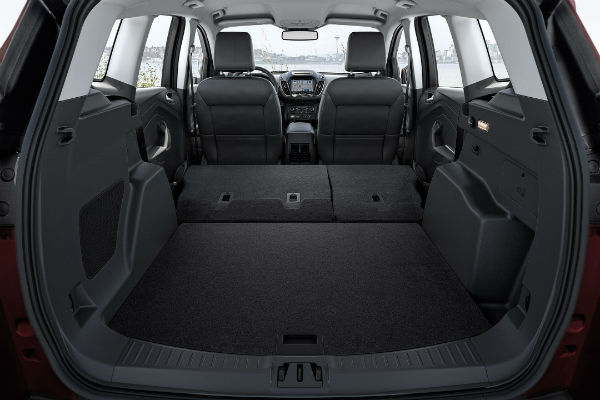 2017 ford escape interior passenger and cargo space. Black Bedroom Furniture Sets. Home Design Ideas