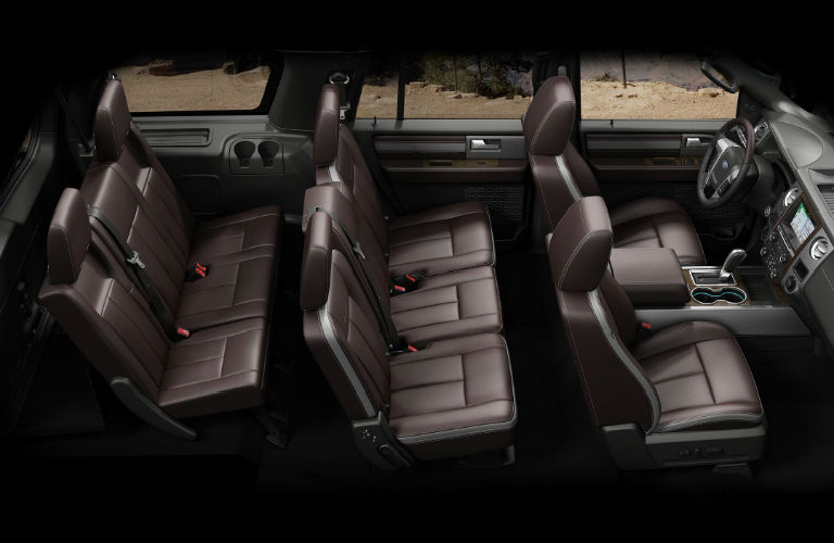2017 Ford Expedition Interior Passenger Seats