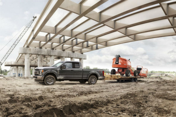 2017 Ford F-250 Tow Rating