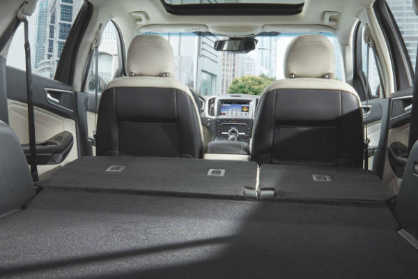 2017 Ford Edge Passenger And Cargo Space