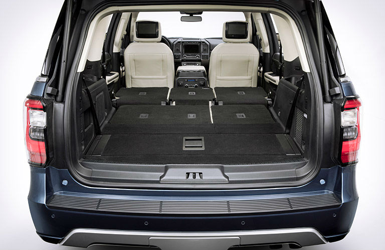 2018 Ford Expedition interior cargo area