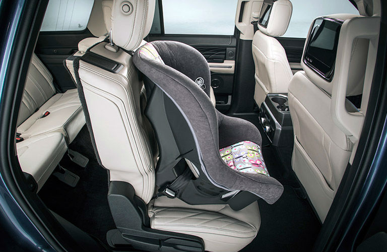 2018 Ford Expedition second-row with child seat
