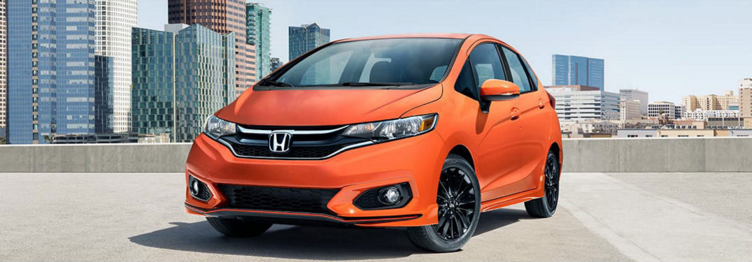 2018 Honda Fit Cargo Volume and Vehicle Dimensions