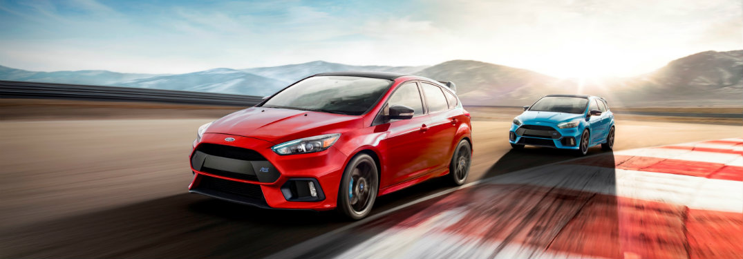 features of the 2018 Ford Focus RS Limited Edition