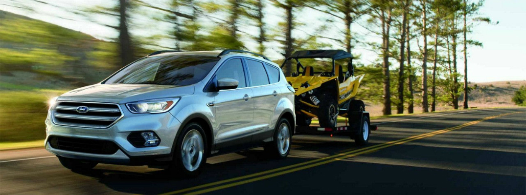 Performance Capability of the 2018 Ford Escape Exterior