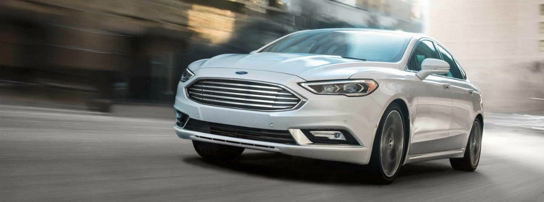 Technology Features on the 2018 Ford Fusion Exterior