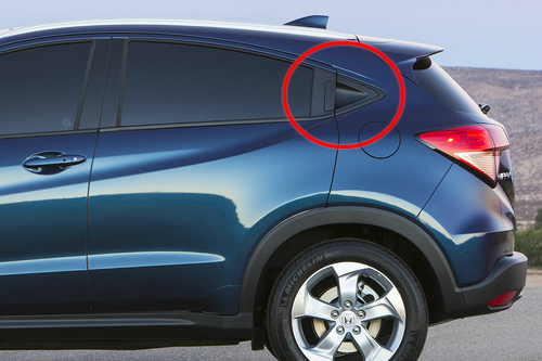 Does the 2017 Honda HR-V have four doors?