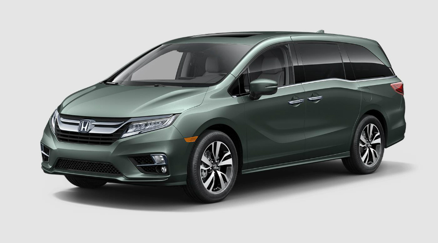Color Options For The 2018 Honda Odyssey