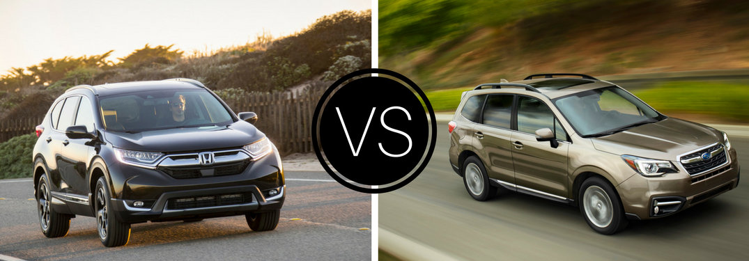 Honda cars of rockwall official blog for Honda crv vs subaru forester