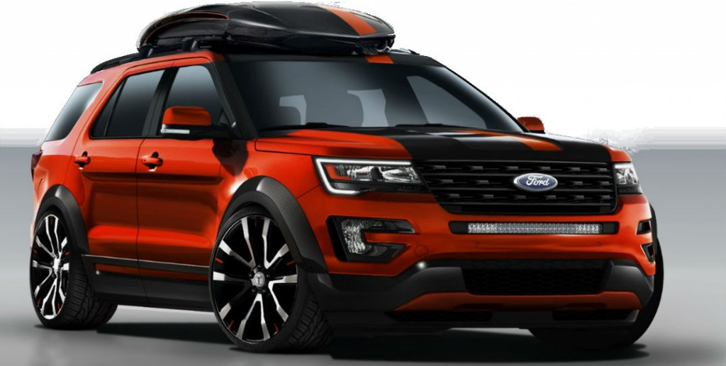 2015 ford explorer sport headlights