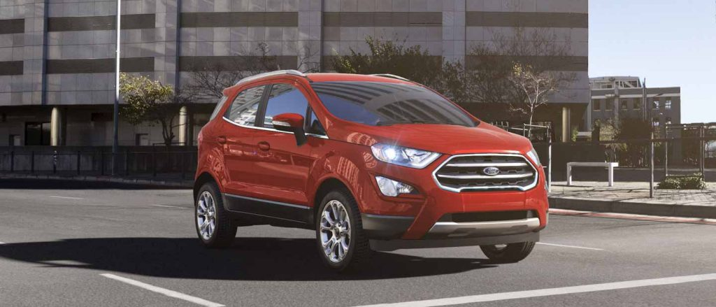 ford ecosport exterior color options
