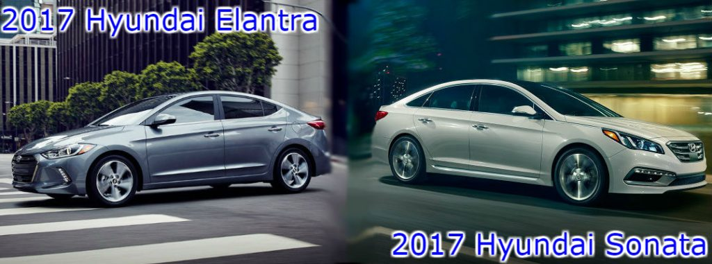 2017 hyundai elantra vs 2017 hyundai sonata o. Black Bedroom Furniture Sets. Home Design Ideas