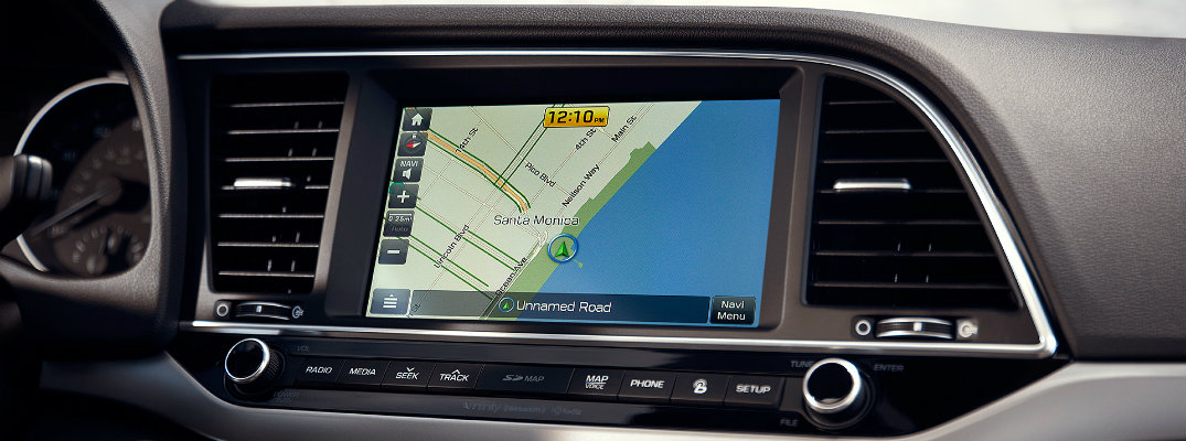 Hyundai Blue Link infotainment system features