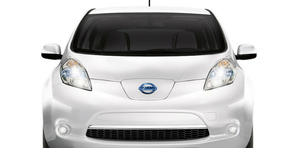 2017 Nissan Leaf Fuel and Money Savings Front End