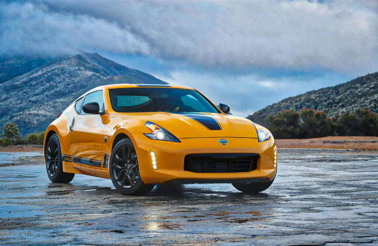 2018 Nissan 370z safety features
