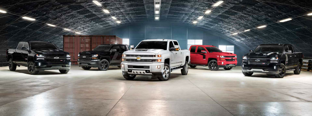 2017 Chevy Silverado Special Editions can be ordered at Bob Weaver Auto