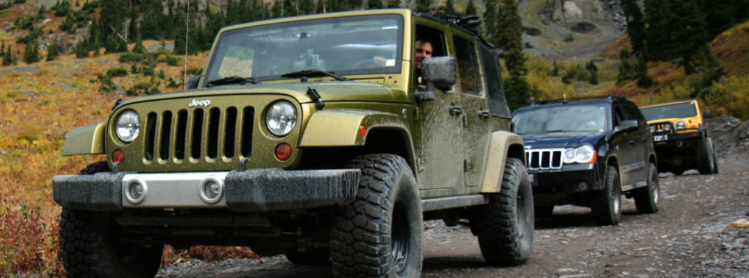 Jeep Jamborees Off-Road Driving Adventures Front