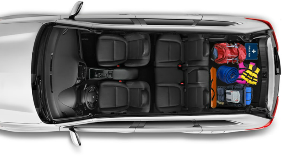 How Much can you fit in the 2018 Mitsubishi Outlander?