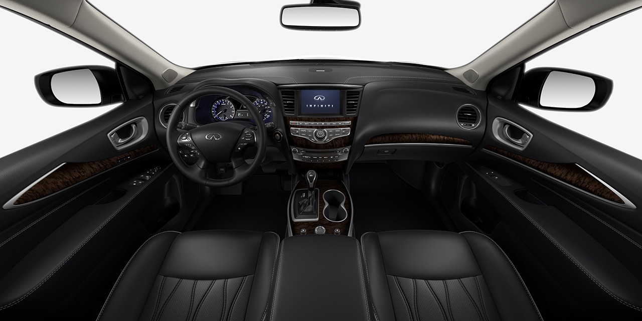 2017 INFINITI QX60 Graphite Maple Interior