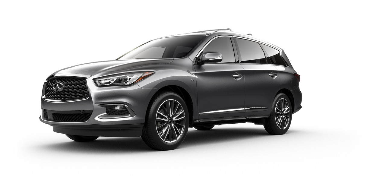 2017 INFINITI QX60 Graphite Shadow