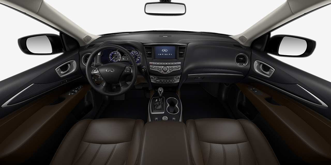 2017 INFINITI QX60 Java Graphite Interior