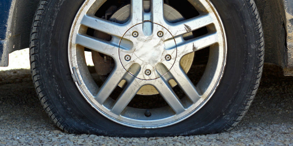 How to Change Your INFINITI Tires Flat Tire