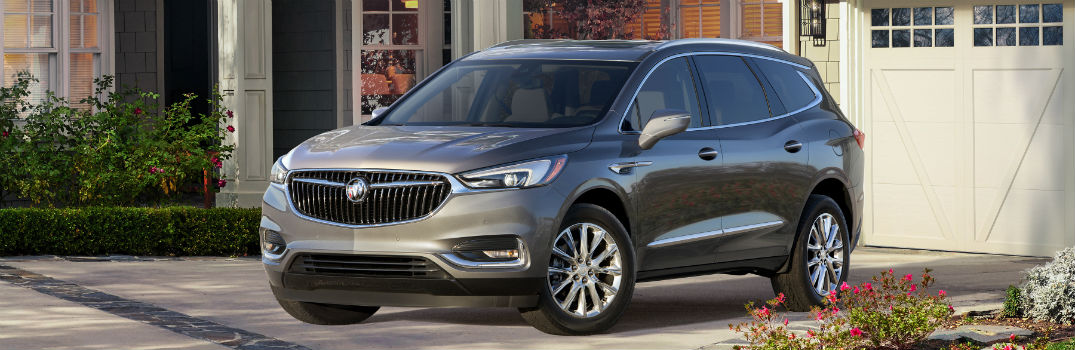 all new 2018 buick enclave crossover release date. Black Bedroom Furniture Sets. Home Design Ideas