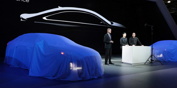 Hyundai Sonata At The New York International Auto Show - Hyundai car show
